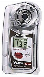 ATAGO Digital Bolsillo Refractómetro Pal-Coffee ( Bx / Tds ) Brix Y Con /