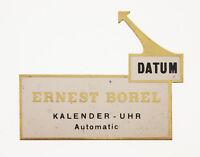 ORIGINAL ERNEST BOREL AUFSTELLER /SIGN ON DISPLAY 50/60ER JAHRE KONZI -SCHILD