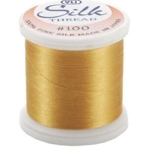 Kanagawa / YLI 100% and #100 Silk Thread [ 215 - Gold ]
