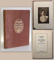 Gedichte von Theodora Prinzessin zu Schleswig-Holstein F. Hugin 1910 xy