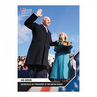 Joe Biden - 2020 USA Election Topps NOW Card 14 2021 Inauguration Day