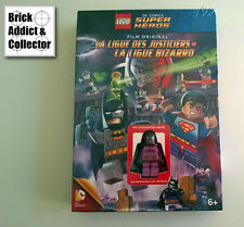 LEGO ® DC Comics DVD Ligue des justicers VS Bizarro exclusive Batzarro NEUF