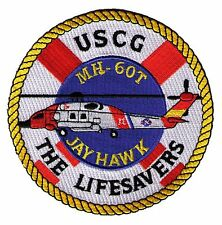 Mh-60T Jayhawk helo Lifesavers W5511 Uscg Coast Guard patch