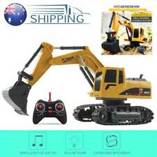 Remote Control Excavator RC Tractor Bulldozer Crawler Truck Toy Digger Car AU