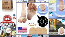 6Pcs Soft Gel Metatarsal Pads Ball Of Foot Cushion For Diabetic Feet Pain Relief