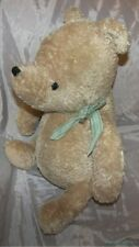 "2005 GUND DISNEY BABY Plush 18"" Shaggy Shabby Honey Gold CLASSIC POOH Sewn Eyes"
