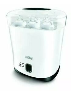 Nuby Natural Touch Steriliser and Dryer, White  new