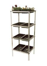 4 Tier Greenhouse Staging  Seed Tray Frame