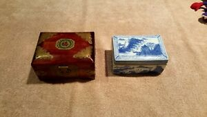 Antique Chinese Jewelry / Storage Boxes