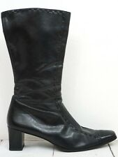 PAUL GREEN ❤ Stiefel Gr. 40,5 (7) Damen Schwarz Boots Scarpe Schuhe