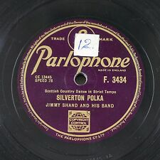 78rpm JIMMY SHAND silverton polka / looking for a partner F.3434