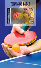 Niger 2016 MNH Table Tennis 1v S/S Sports Stamps