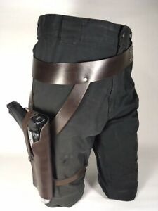 Jyn Erso belt and holster UNweathered leather costume accessory Star Wars Rogue1