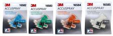 3M 1.2,1.3,1.4,1.8 Accuspray Atomizing Heads Single White Spray Gun Tip (1 each)