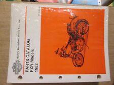 Harley Shovelhead 1982 Fxr Oem Nos Parts Catalog