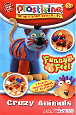 Plasticine Animal Fun - Funny Feet