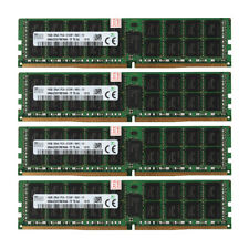 4x for SK Hynix 16GB 2Rx4 PC4-2133P 17000 DDR4 2133Mhz ECC Server Memory RAM @BM