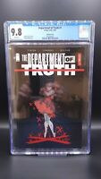 Department of Truth #1 1:50 CGC 9.8 IMAGE COMICS 2020 James Tynion Mirka Andolfo