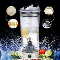 250mL Portable Electric Shaker Vortex Drink Cup Protein Nutrition Mixer Bottle