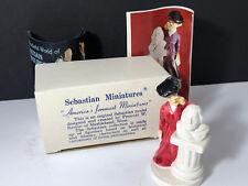 Sebastian Miniatures Mrs Rittenhouse Square 1948 original box figurine Baston uk