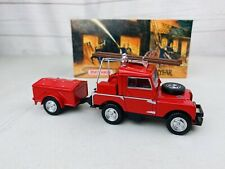 MATCHBOX-MODELS OF YESTERYEAR-YFE02-1948 LAND ROVER AUXILIARY-FIRE ENGINE SERIES