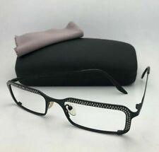 New CAVIAR Unique Eyeglasses M 1710 C.24 51-17 135 Matte Black Frame w/ Crystals
