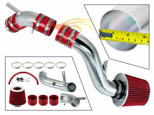 RED COLD AIR INTAKE KIT+DRY FILTER FIT FOR 97-01 Tiburon Coupe 1.8L 2.0L