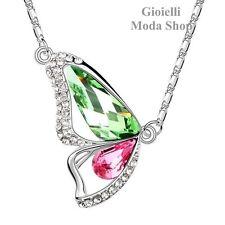 Girocollo Collana e Ciondolo Farfalla con Crystal Swarovski da Donna - G70