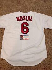 "(SSG) STAN MUSIAL Signed ""St. Louis Cardinals"" MLB Baseball Jersey - PSA/DNA COA"