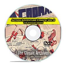 Action Adventure Comics, Vol 6, Captain Atom, Firehair, Golden Age DVD D49