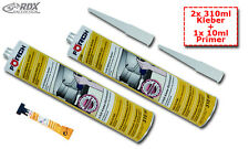 (€26,97/L) Karosserie Kleber 2x 310ml incl Primer 10ml Spoiler Tuning Montage
