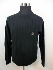 Vintage  Tommy HilfigerBlack Rope MensSweater Size Small