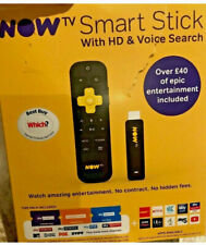 Now TV Smart Stick HD with Voice Search Remote
