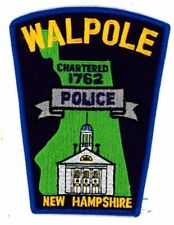 WALPOLE NEW HAMPSHIRE NH POLICE NEW COLORFUL PATCH SHERIFF