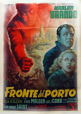 FRONTE DEL PORTO  MANIFESTO ORIGINALE 1
