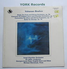 ATD 8201 - BOEHM - Four Orchestral Works ISRAEL CHAMBER ORCHESTRA - Ex LP Record