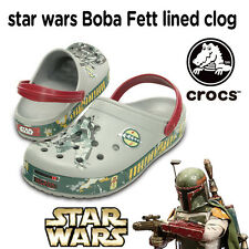 CROCS Clogs - STAR WARS - Boba Fett Clogs - Lim. Edition - Größe 43/44 - NEU