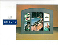 Burnes of Boston  Picture Frame Five Panel Wood Glass  over Pictures Free  Ship