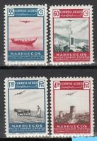 Spanish Morocco 1953. Complete set mint stamps. Air mail.