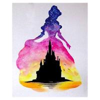 Diamant Malerei Diamond Painting Prinzessin Strass Stickerei Bilder DIY 30x40cm
