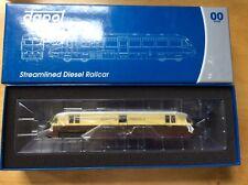 Dapol OO Gauge Streamlined Railcar 17 Express Parcels GWR Choc&Cream #4D-011-100