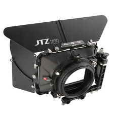 "JTZ DP30 Cine Carbon Fiber 4x4"" Matte Box 15mm/19mm For Sony A7R ARRI RED CANON"
