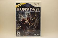 Cabela's Survival Shadows of Katmai (Nintendo Wii, 2011)