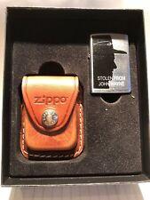 """Briquet """"ZIPPO Lighter & Pouch Gift Set"""" JOHN WAYNE édition limitée 3883/5000"""