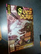 Grimm's Ghost Stories #44 1978  Death Sentence Cover ! FN+