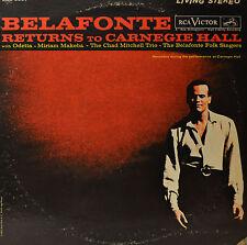 "HARRY BELAFONTE - RETURNS TO CARNEGIE HALL  12"" 2 LP  (O501)"