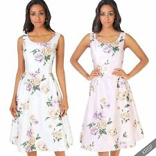 Polyester Casual Floral Tea Dresses