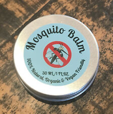 Mosquito Insect Balm 100% Natural, Organic Vegan Friendly !00% Effective !
