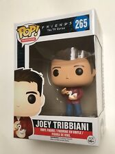 FRIENDS POP Vinyl JOEY TRIBBIANI #265 with PROTECTOR First Joey Release DUCK
