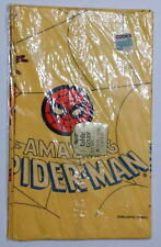 AMAZING SPIDER-MAN TABLE COVER 1978 Reed 52 x 96 Marvel Rare MIP